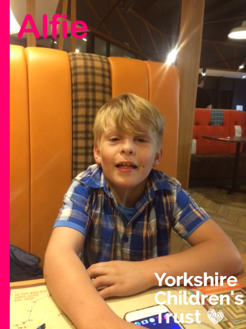 Alfie was supported by Yorkshire Children's Trust with an essential grant to pay for a family holiday.