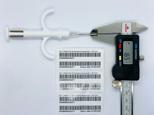 Microchip para aves