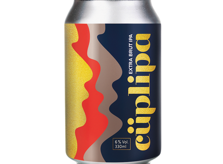Neue Bierkreation - CÜPLIPA Extra Brut IPA