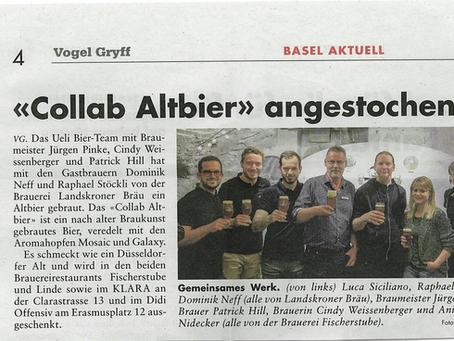 Collab Altbier - Fassanstich