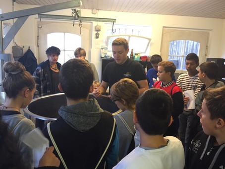 Besuch aus dem Oberstufenzentrum Leimental