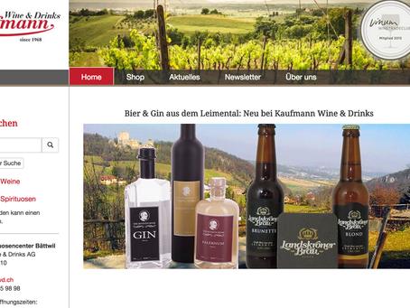 Landskroner Bräu bei Kaufmann Wine & Drinks AG