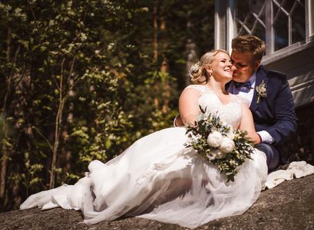 Intiimit puutarhahäät Tuusulassa | Garden Wedding in Finland | Villa Tammikko & Tuusulan kirkko