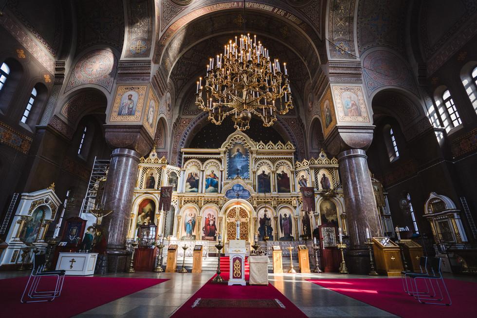 Pienet ortodoksihäät Helsingissä