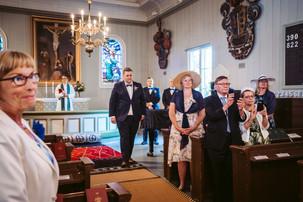 Häät Tuusula Villa Tammikko hääkuvaaja Tuusulan kirkko