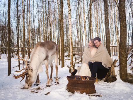 Hääpäivä kahdestaan seikkaillen | Adventurous Winter Elopement