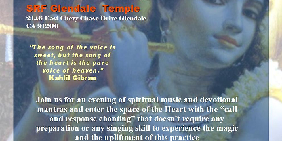 Luca Gopal and the band of Divine Gypsys at Glendale Temple