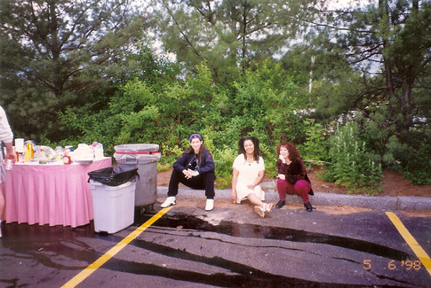 Karen, Ming and me after catering.jpg