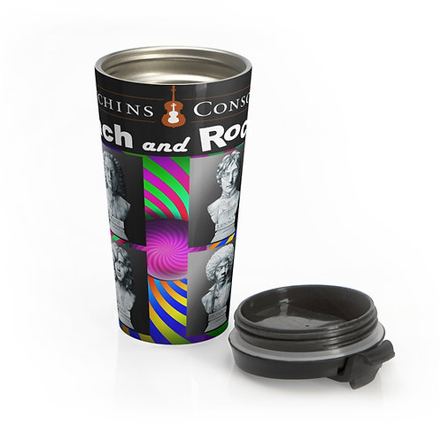 Bach and Rock Stainless Steel Travel Mug