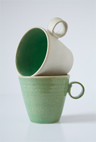 green-cups
