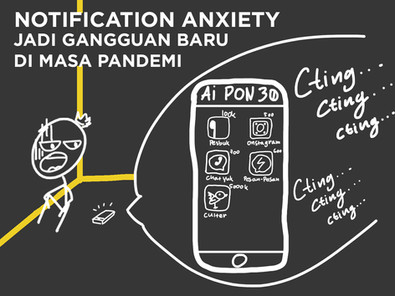 Notification Anxiety Jadi Gangguan Baru di Masa Pandemi!