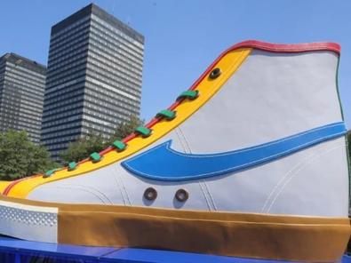 Ternyata Ini Alasan Menghilangnya Instalasi Sepatu Kompas Di DKI Jakarta