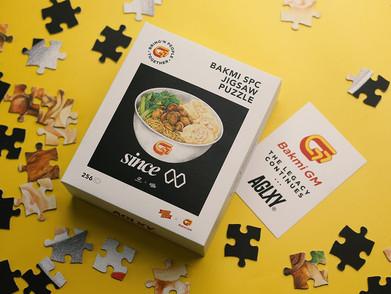 Kolaborasi Bareng AGLXY, Bakmi GM Keluarkan Jigsaw Puzzle Yang Lucu Abis!