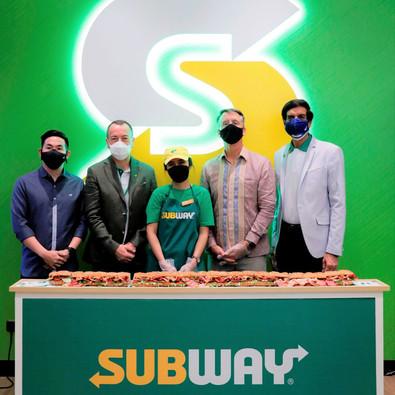 Subway Akhirnya Resmi Buka Outlet Pertamanya di Indonesia!