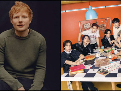 Ed Sheeran Umumkan Kolaborasinya Bareng BTS Rilis 9 Juli