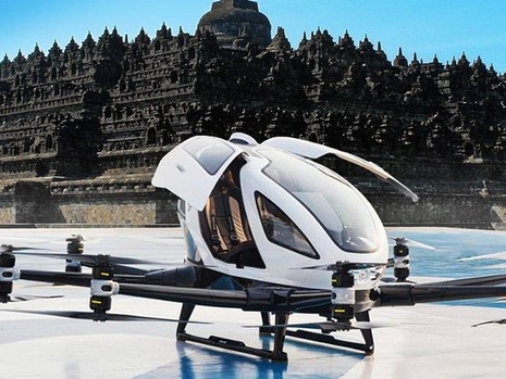Sekarang Di Jakarta Udah Hadir Taksi Terbang?