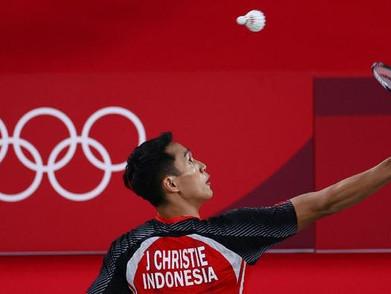 Jonatan Christie Berhasil Menang Di Laga Perdana Olimpiade Tokyo 2020