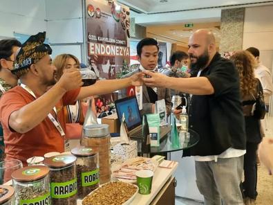 Di Pameran Kopi Turki, Indonesia Berhasil Jual 600 Ton Biji Kopi