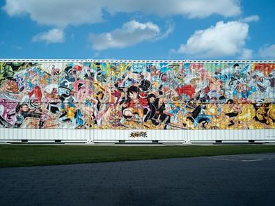 One Piece Pamerkan Ilustrasi Raksasa, Buat Rayakan Volume Ke 100!
