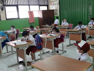 1.303 Sekolah Jadi Klaster Covid-19, Selama Masa PTM Terbatas