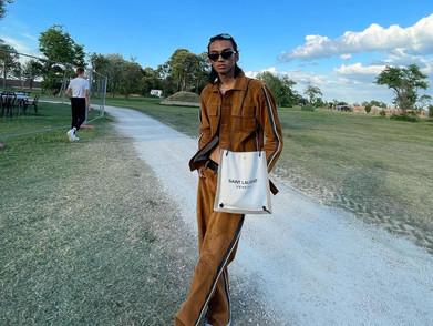 Raihan, Model asal Indonesia yang Debut di Saint Laurent Men's SS22