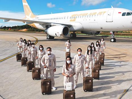 Mulai Beroperasi, Super Jet Air Buka Harga Rp 367ribu Untuk Rute Jakarta-Palembang