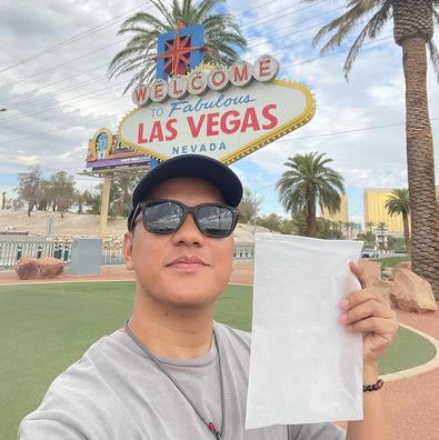 Arief Muhammad Jualan Udara Dari Las Vegas, Ada Yang Mau Beli?