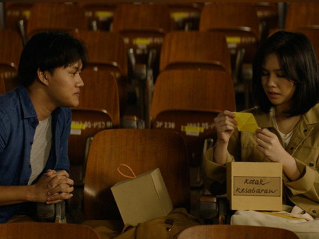 Falcon Pictures Rilis Teaser Film 'KATA' Yang Dibintangi Vanesha Prescilla