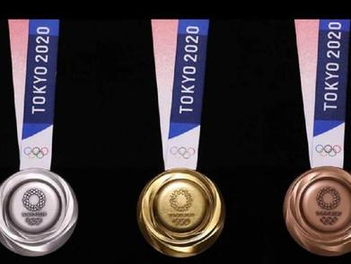 Medali Olimpiade Tokyo 2020 Ternyata Terbuat dari Limbah Elektronik