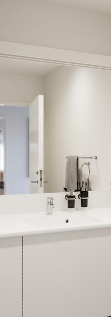 Sønderhaven Townhouse Architectural Visualization Bathroom