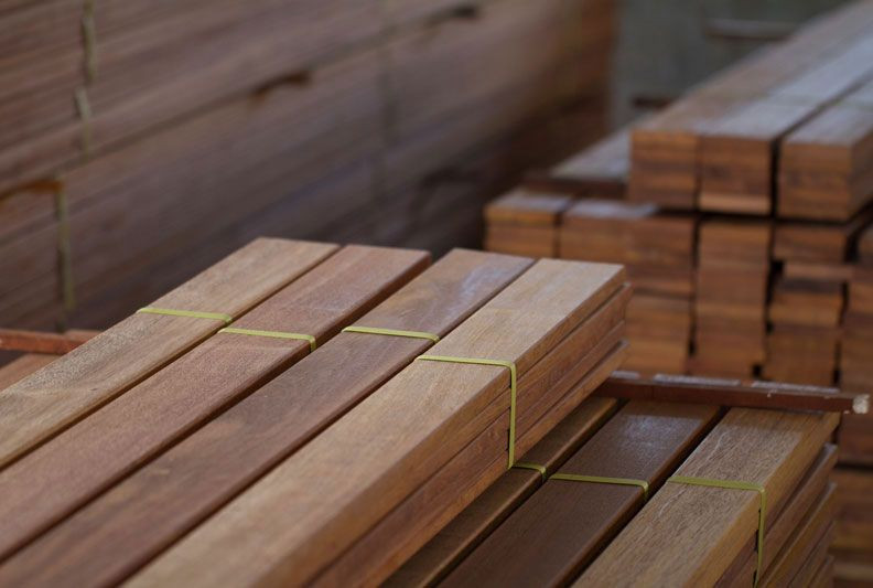 merbau decking set length melbourne