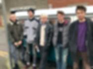 Turnstiles band shot