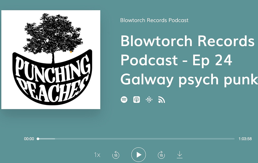 Cover art for episode 24 of Blowtorch Records podcast
