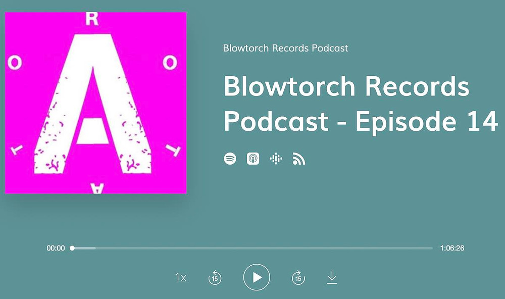 Artwork for Blowtorch Records podcast