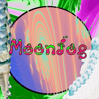 Logo for Liverpool indie band Moondog