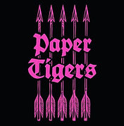 Logo for Belfast band Paper Tigers