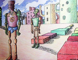 Cover art for Robots of Love music