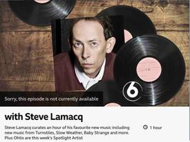 Turnstiles on Steve Lamacq