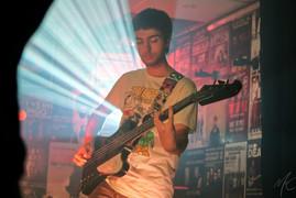 Turnstiles bass player Jake Tiernan