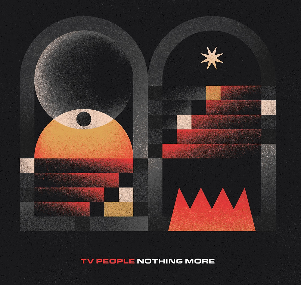Cover art for TV People's EP Nothing More