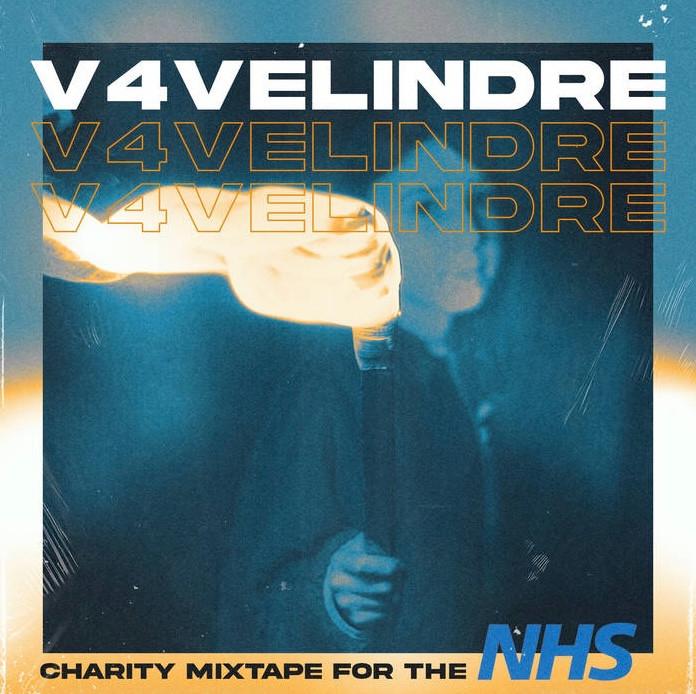Cover art for V4Velindre charity mixtape