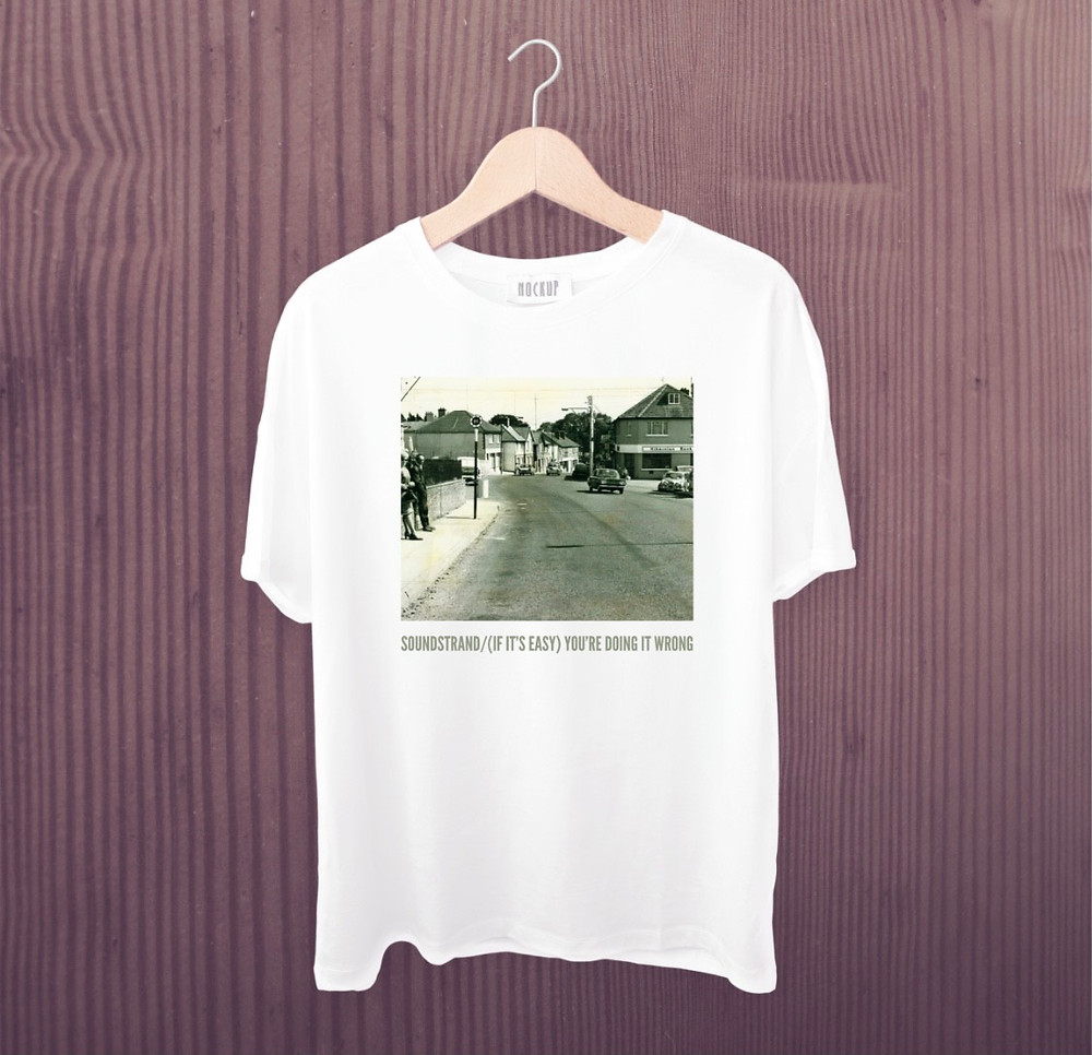 T shirt for Dublin band Soundstrand