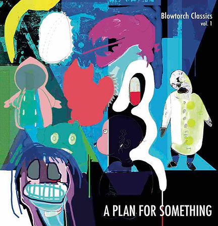 Cover art for A Plan For Something compilation album