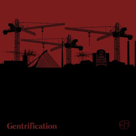 Cover art for Nixer single Gentrification