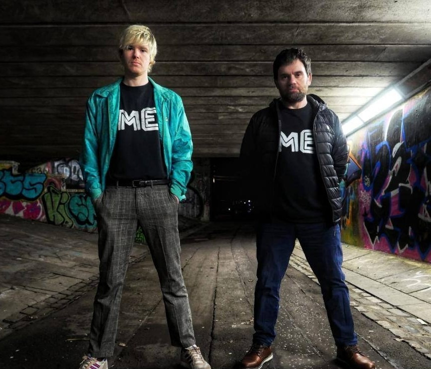 John and Paul from Glasgow band MEMES