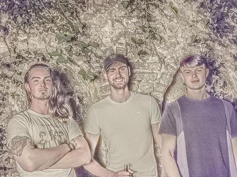 Band photo of Limerick band Static Vision