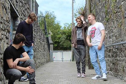 Sligo band Some Remain in the alley