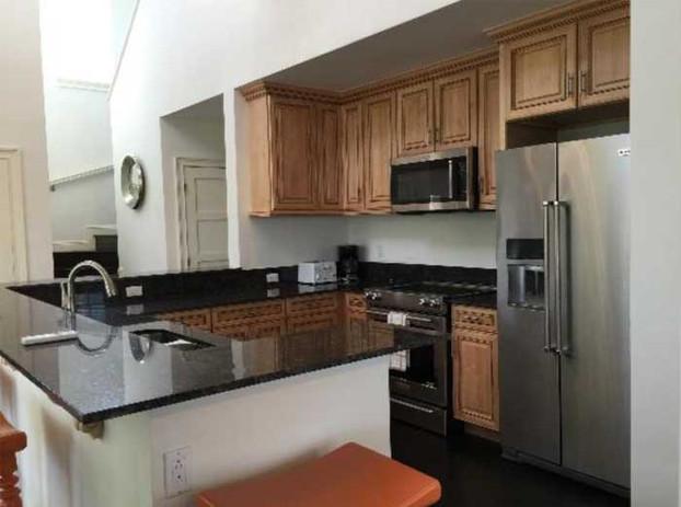 Chub Cay villa kitchen