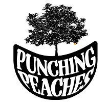Punching peaches logo
