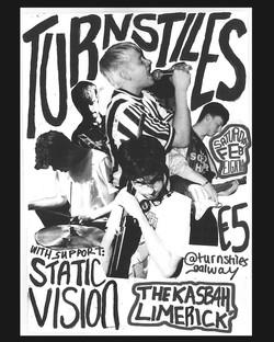 Turnstiles gig poster